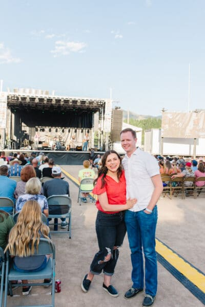 Outdoor Concert Date Night