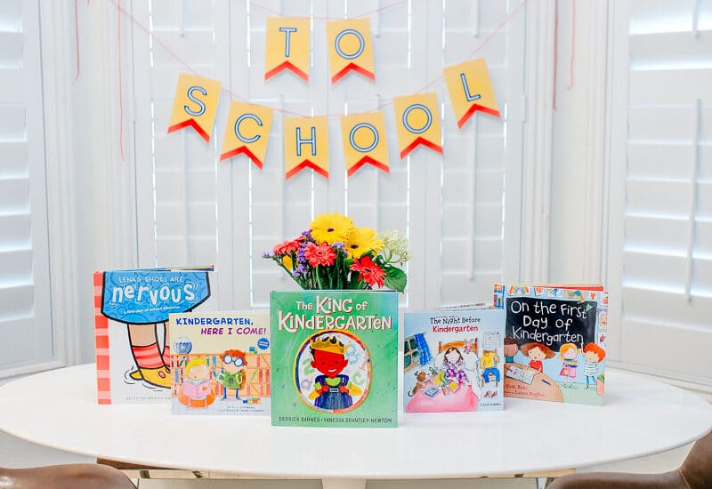 Books About Going to Kindergarten
