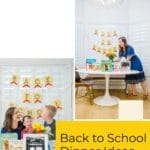 Back to School Family Tradition: Back To School Dinner Ideas